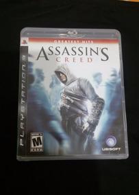 Assassins Creed - Ps3 - Carta Registrada R$ 12