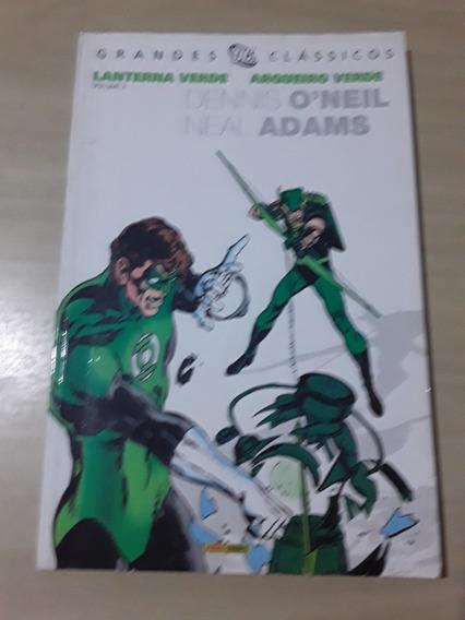 Hq Grandes Classicos Dc 7 Lanterna Verde Arqueiro Verde 2
