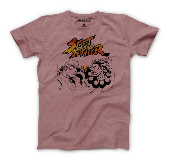 Playera Grapics Street Fighter Akuma Ryu Camiseta Geek Gamer