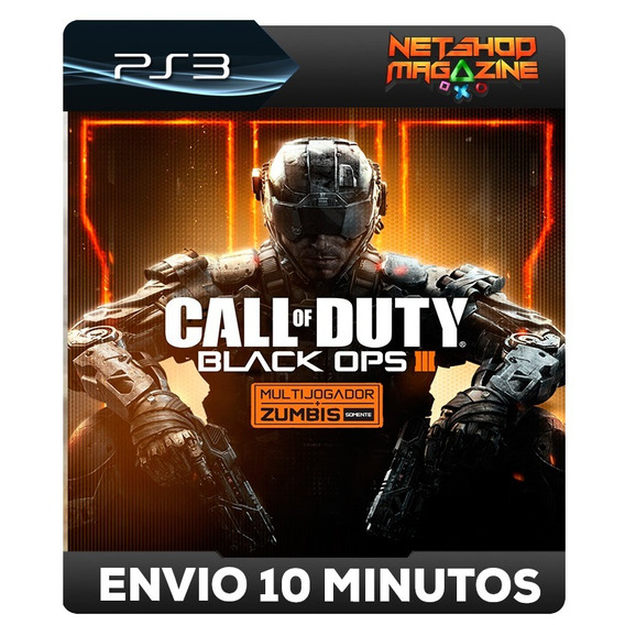 Call Of Duty: Black Ops Iii 3 Português - Psn Ps3 - Envio Ja