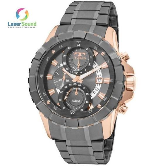 Relógio Technos Masculino Js15el/4c, C/ Garantia E Nf