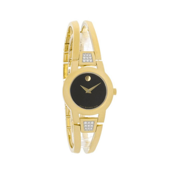 Reloj Movado 606895 Acero Inoxidable Dorado Mujer