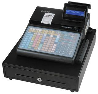 Caja Registradora Sam4s Modelo Er-920 Para Trabajo Pesado