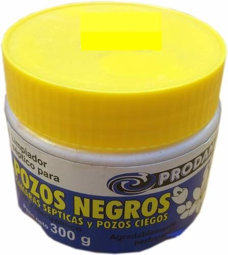 Limpiador Septico De Pozos Negros Camaras Septicas 300 Grs