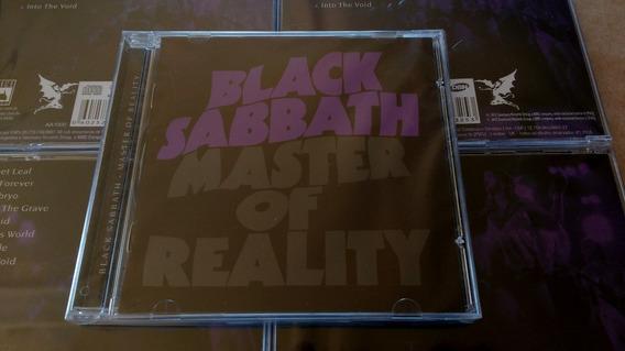 Cd Black Sabbath - Master Of Reality - Novo E Lacrado