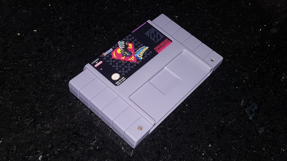 The Death And Return Of Superman Snes Repro + Frete Grátis!