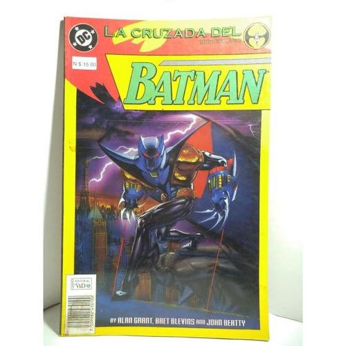 Batman La Cruzada Del Murcielago Tomo 6 Editorial Vid