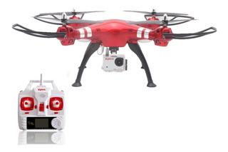Drone Cuadricoptero Syma X8hg Camara Hd Carga Peso Modelo Nuevo