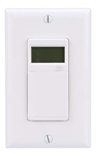 Woods 59020 In-wall 7-day Digital Timer White