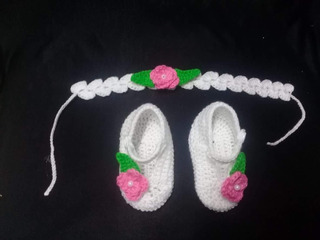 Zapatos Para Bebe Tejidos A Mano