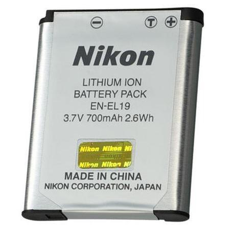 Bateria En-el19 Nikon Coolpix S2500 S3100 S4100 C4250 S3300