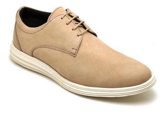 Sapato Sapatênis Casual Masculino Em Couro Lançamento Brinde