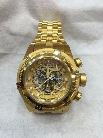Relógio Invicta 12763 Bolt Zeus Dourado