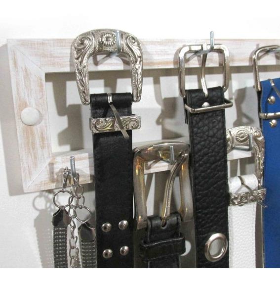 Cinturonero Organizador De Cinturones Collares Disfraces Etc