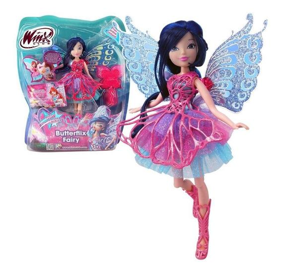 Musa Winx Boneca Club Butterflix Fairy- 30 Cm - Original