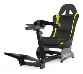 Cockpit Retrátil Simulador Suporte Para Volantes G27,g29,ps4