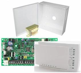 Kit Central Alarme Paradox Sp4000+teclado K10h+caixa+trafo