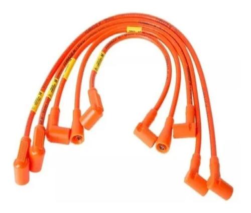 Cables De Bujia 9mm Para Fiat Motor Tipo 1.4 Y 1.6 Ferrazzi