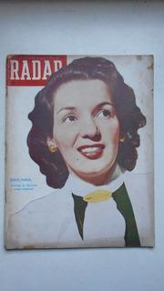 Revista Radar Nº 118 - 1951 - Emilinha Borba, Miss Televisão