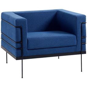 Poltrona Le Corbusier 1 Lugar 2064-1 Lona Daf Mobiliário