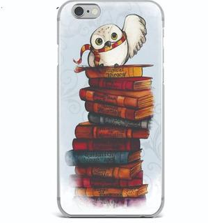 Case iPhone 7 Plus - Harry Potter Livros