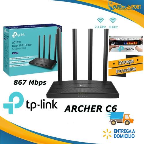 Imagen 1 de 7 de Router Inalambrico Tp-link Archer C6, C60 $42, Wr941hp 62$