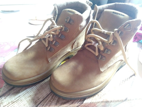 Boot Bretao Couro,linha Confort Nobuck, Cor Mel Número 37