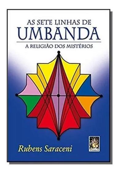 Livro As Sete Linhas De Umbanda A Religião Dos Mistérios