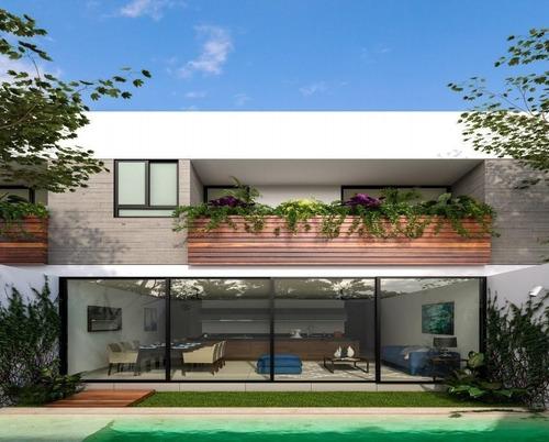 Imagen 1 de 6 de Townhouse En Venta, En Privada Sao Modelo 200.