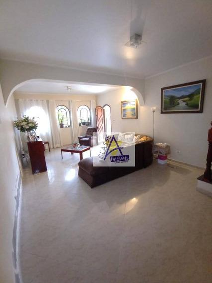 Sobrado Com 3 Dormitórios À Venda, 250 M² Por R$ 700.000,00 - Jardim Pilar - Mauá/sp - So0078