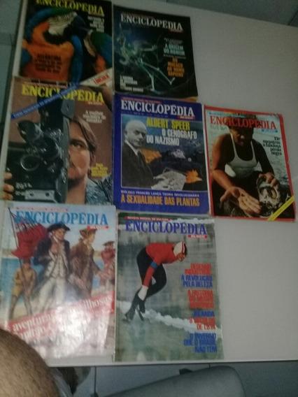 Lote Revistas Enciclopédia 03,11,16,18,24,28,40,49,59,60e 63