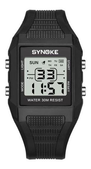 Relógio Digital Led Watch Digital Á Prova Água