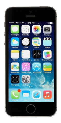iPhone 5s 16 GB cinza-espacial