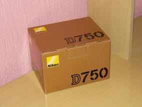 Camera Nikon D750 Só O Corpo Nova Na Caixa Em P.alegre-rs