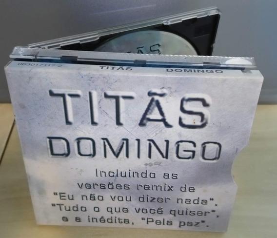 Cd Titãs - 1995 - Domingo (com A Luva - Capa De Papelão)