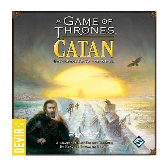 Jogo Catan A Game Of Thrones - Devir - Bonellihq G19