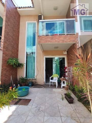 Casa À Venda, 98 M² Por R$ 340.000,00 - São Marcos - Macaé/rj - Ca0415