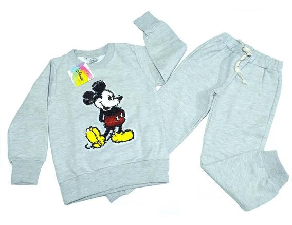 Conjunto Pantalón Y Buzo Mickey Disney Fty Calzados