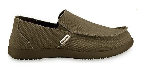 Crocs Zapato Caballero Santa Cruz Tela Originales