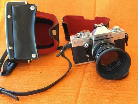 Câmera Fotográfica Praktica Slr Ltl3 + Acessórios!