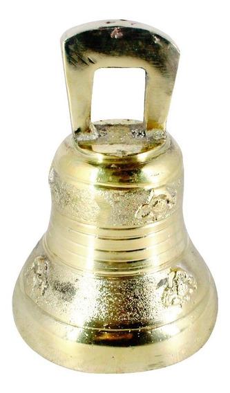 Sino Com Alça De Bronze Para Casa, Chacara, Sítio, Capela, 10x15cm Nº1