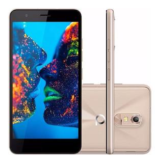 Smartphone Quantum Muv Q5 16gb Dual Dourado Lacrado