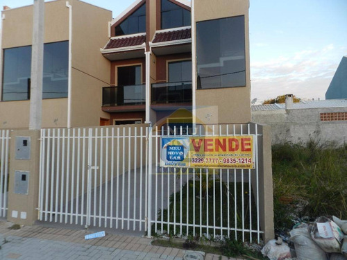 Sobrado Com 3 Dormitórios À Venda, 92 M² Por R$ 350.000,00 - Umbará - Curitiba/pr - So0057