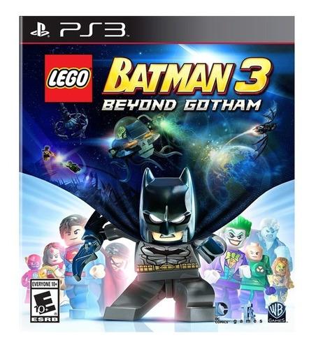 Lego Batman 3 Beyond Gotham Ps3 Juego Cd Blu-ray Nuevo Original Físico Sellado En Stock Entrega Inmediata