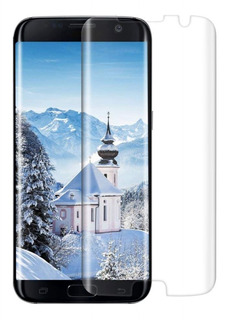 Película Vidro Galaxy S7 Edge Curva Lateral - Transparente
