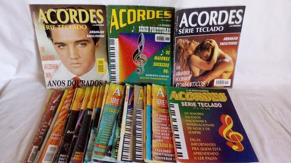 Revista Acordes Série Partituras E Série Teclado 26 Revistas