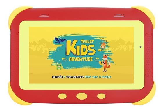 Tablet Dl Kids Adventure Tela 7 8gb Android C/ Wi-fi