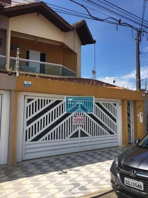 Casa Residencial À Venda, Canto Do Forte, Praia Grande. - Ca0006