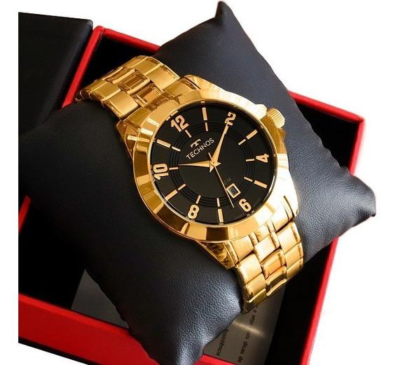 Relógio Technos Masculino Dourado 2115kon/4p Original