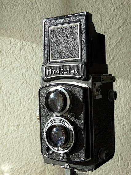 Câmera Fotográfica Minolta Flex Type Ii B Ano 1955 ( Antiga)